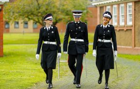 Our students in uniform