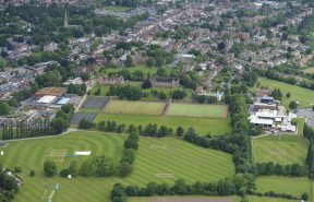 Aerial Photograph of Bromsgrove School