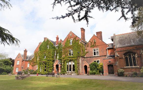 Queen Anne's School Entrance