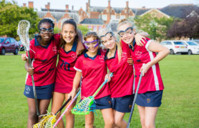 we are proud of the girls' success on the sports field