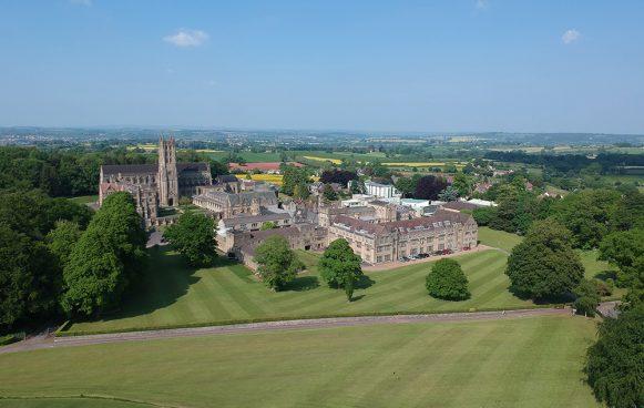 Downside School Aerial View