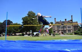 High Jump at sports day