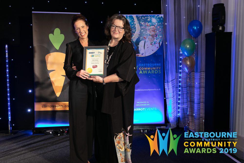 Linda Salway, Chair of the Eastbourne Schools Partnership
