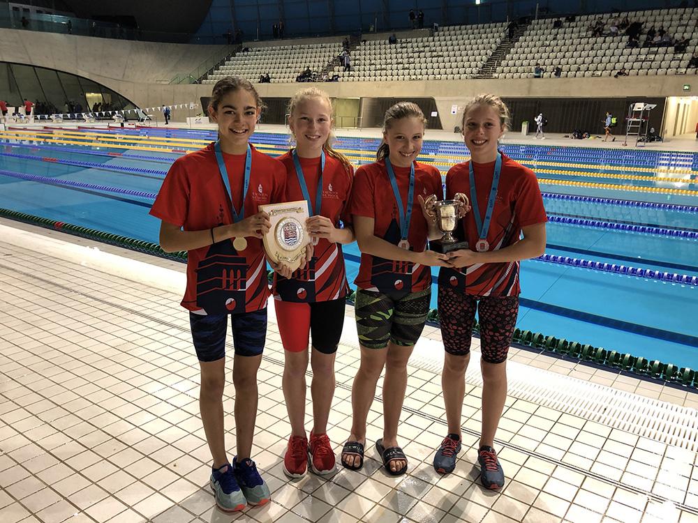 Taunton Swimming Relay Winner