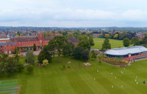 Aerial View of Trent College