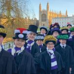 Chorister at Kings College School, Cambridge
