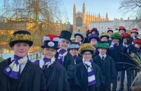 Chorister at Kings College School, Cambridge