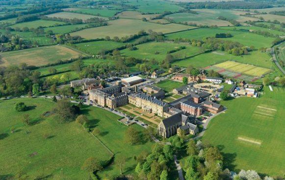 Aerial of School