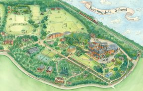 Sunningdale School Map